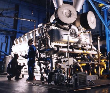 Allen 5012 (V12) engine