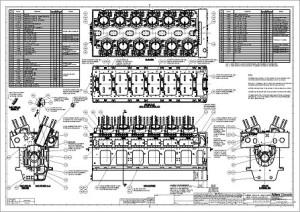 Engine block assy